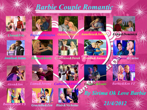 바비 인형 Couple Romantic