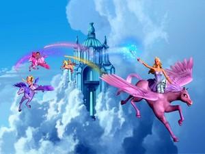 바비 인형 Magic Of The Pegasus