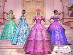 Barbie Three Muketeers