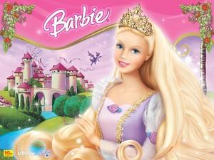 바비 인형 as Rapunzel