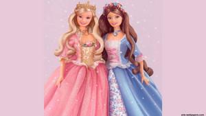 바비 인형 as the Princess and the Pauper