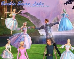 Barbie of cigno Lake