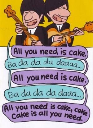Beatles Birthday Card