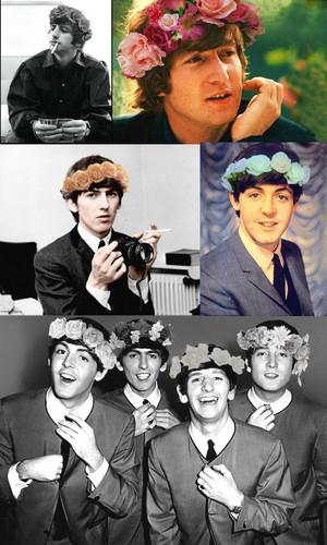 Beatles/flower crowns 💐