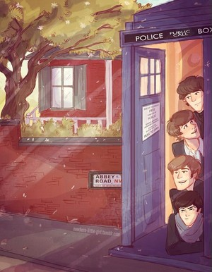 Beatles in the TARDIS! 😲