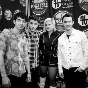 Bebe Rexha and Jonas Brothers
