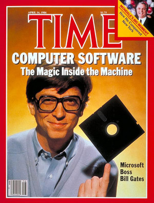 Bill Gates On The Cover Of Time