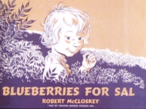 Blueberries for Sal titlecard