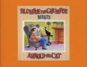 Blumpoe the Grumpoe Meets Arnold the Cat titlecard