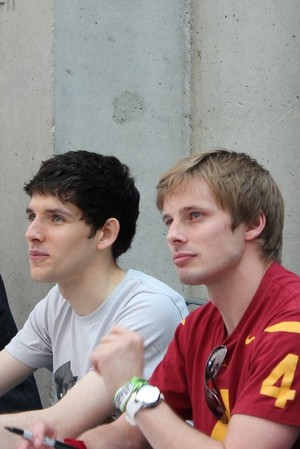 Bradley James/Colin 모건