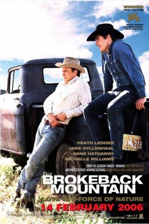 Brokeback Mountain 2005 Poster Lgbt Film Foto 42862883 Fanpop