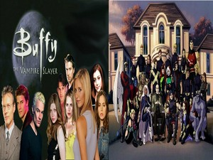 Buffy X Men Evolution