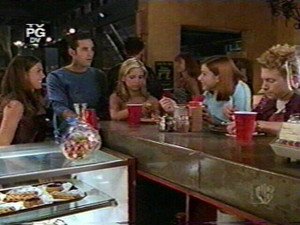 Buffy Xander Willow Oz and Cordelia