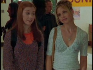 Buffy and Willow 3