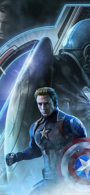 Captain America / Steve Rogers Avengers Endgame character poster