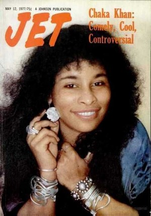 Chaka Khan On The Cover Of Jet