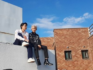 Chanyeol and Sehun for W Korea