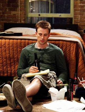 Chris Evans as Colin Shea in What's Your Number? (2011)