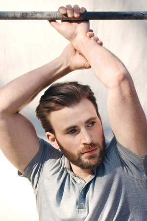 Chris Evans by Mark Segal — Esquire Magazine