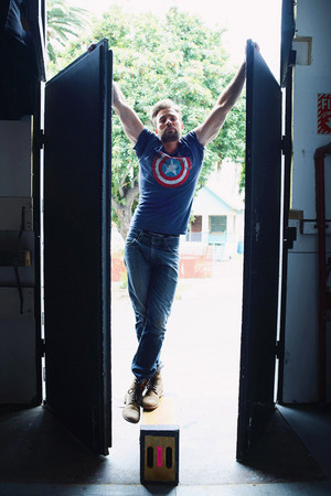 Chris Evans door Peggy Sirota — Rolling Stone Magazine