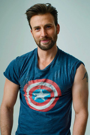 Chris Evans by Peggy Sirota — Rolling Stone Magazine