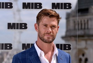 Chris MIB International लंडन photocall