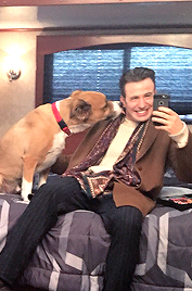 Chris and Dodger 💕
