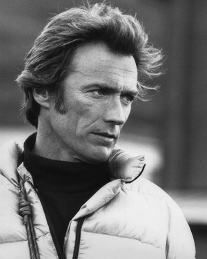 Clint on the set of The Eiger Sanction