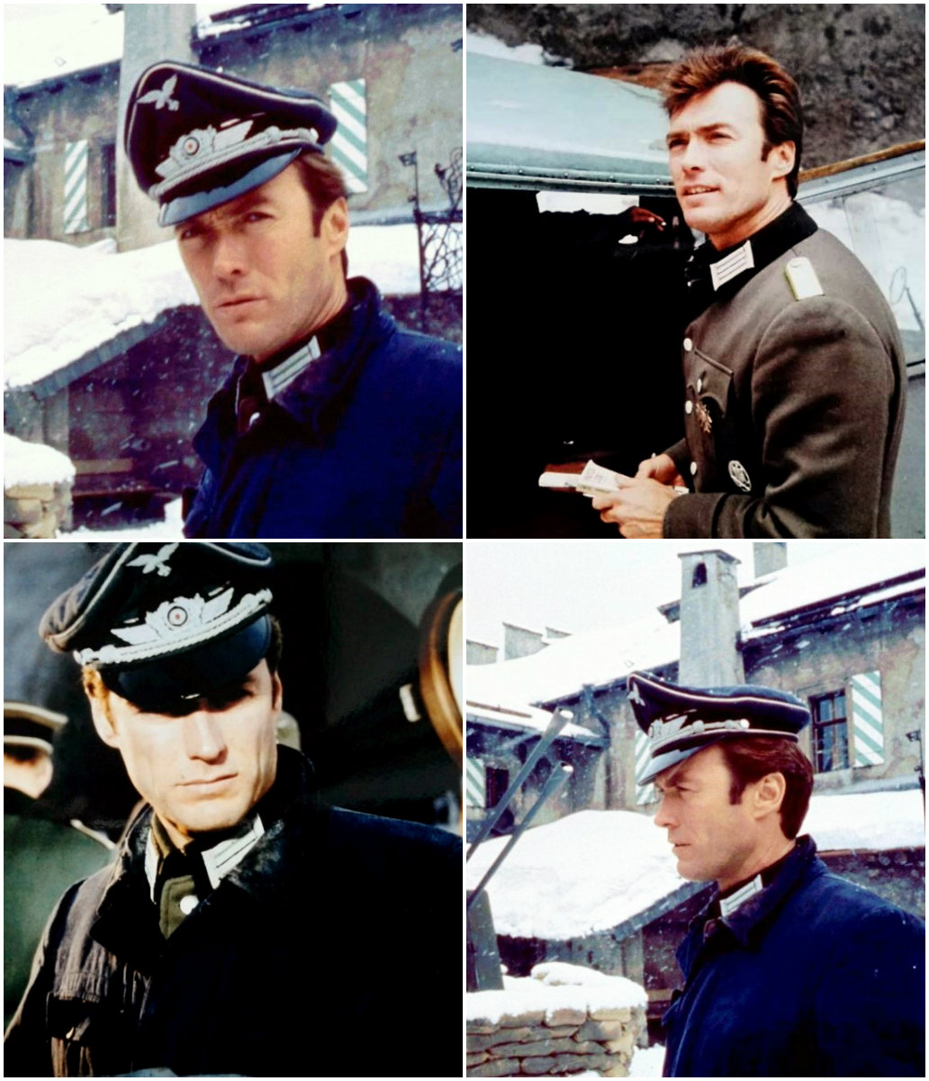 Clint on the set of Where Eagles Dare
