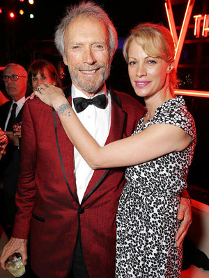 Clint with his daughter Alison Eastwood -premiere Jersey Boys 2014