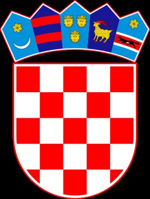 涂层, 外套 of Arms of Croatia