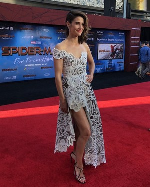 Cobie Smulders -Spider-Man: Far From nyumbani Premiere (June 26, 2019)