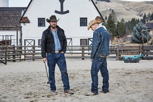 Cole Hauser as Rip Wheeler in Yellowstone: Daybreak