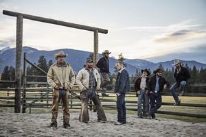Cole Hauser as Rip Wheeler in Yellowstone: Season 1 Cast Portrait