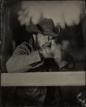 Cole Hauser as Rip Wheeler in Yellowstone: Season 2 Tintype Portrait