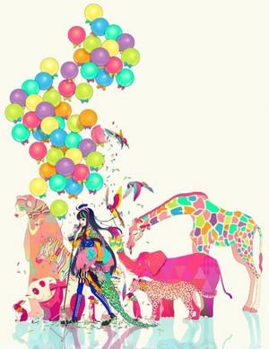 Colorful Circus