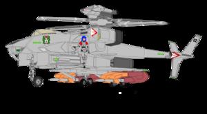 """Conventional Gyrpdyne VFH-12B Super Auroran (a.k.a. """"Super AGAC"""" ) and Aurora Sterling"""