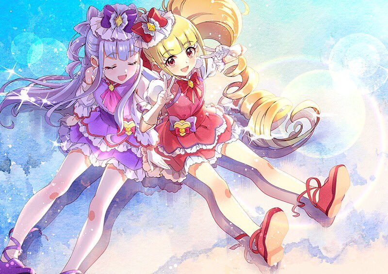 Cure Amour and Cure Macherie