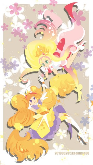 Cure Flora and Cure Twinkle
