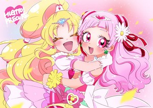 Cure Yell and Cure Tomorrow