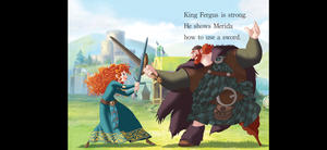 D Princess dads Merida 2