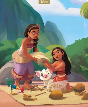 DP Moms - Moana