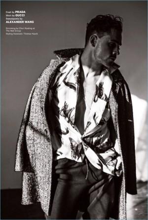 Dacre Montgomery - Essential Homme Photoshoot - 2018
