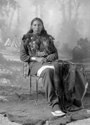 Dakota Man - photo: Barry - 1880s