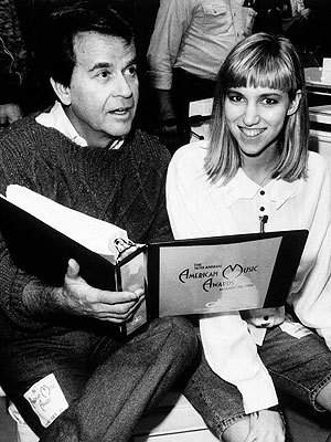 Dick Clark And Debbie Gibson