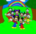Disney Junior Kids - walt-disney-characters fan art