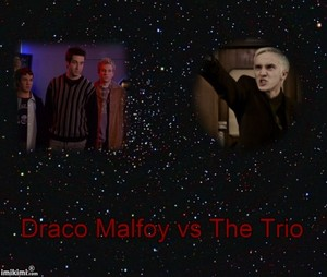 Draco Malfoy vs The Trio