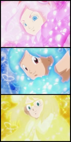 Dragon Ball Super Magical Girl Formation Transformation
