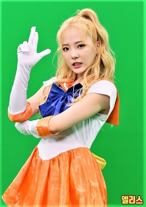ELRIS Sailor Moon Cosplay