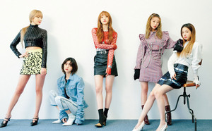 EXID for Nylon Japon 2019